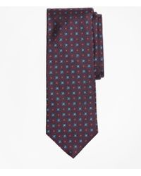Brooks Brothers - Flower And Diamonds Tie - Lyst