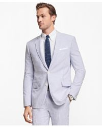 Brooks Brothers - Regent Fit Stripe Seersucker Suit - Lyst