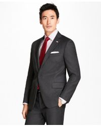 Brooks Brothers - Regent Fit Screen Weave 1818 Suit - Lyst