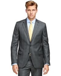 Brooks Brothers - Fitzgerald Fit Saxxontm Wool Plaid 1818 Suit - Lyst