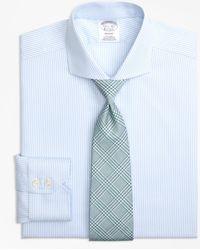 Brooks Brothers - Regent Fitted Dress Shirt, Non-iron Alternating Stripe - Lyst