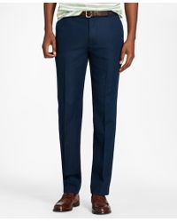 Brooks Brothers - Milano Fit Linen And Cotton Chinos - Lyst