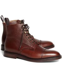 d80f50eef6f Brooks Brothers Duck Boots in Brown for Men - Save ...