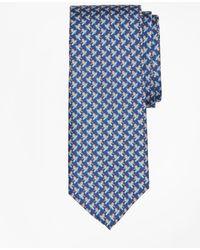 Brooks Brothers - Snowboarding Penguin Print Tie - Lyst