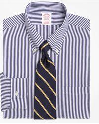 Brooks Brothers - Non-iron Regent Fit Bengal Stripe Dress Shirt - Lyst