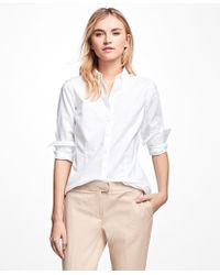 Brooks Brothers - Non-iron Tailored-fit Supima® Cotton Dress Shirt - Lyst