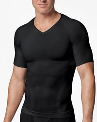 Brooks Brothers - Spanx® Zoned Performance V-neck - Lyst