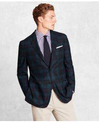 Brooks Brothers - Golden Fleece Brookscloudtm Wool-blend Black Watch Sport Coat - Lyst
