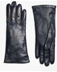 Brooks Brothers | Cashmere Lined Leather Gloves | Lyst