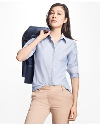 Brooks Brothers - Classic-fit Supima® Cotton Oxford Forward-point Shirt - Lyst