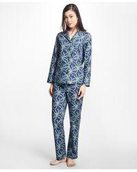 Brooks Brothers - Palm Tree Print Supima® Cotton Pyjama Set - Lyst