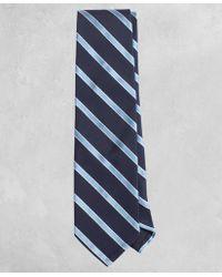 Brooks Brothers - Golden Fleece® Striped Cotton-silk Tie - Lyst