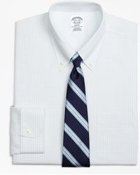 Brooks Brothers - Non-iron Regent Fit Graph Check Dress Shirt - Lyst
