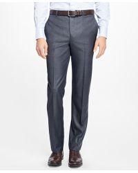 Brooks Brothers - Fitzgerald Fit Wool Dress Trousers - Lyst