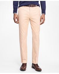 Brooks Brothers | Milano Fit Supima® Cotton Stretch Chinos | Lyst