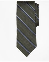Brooks Brothers | Herringbone Framed Stripe Tie | Lyst