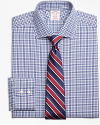 Brooks Brothers - Madison Classic-fit Dress Shirt, Non-iron Glen Plaid - Lyst