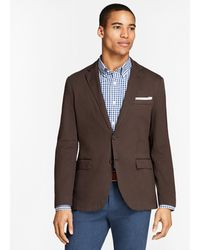 Brooks Brothers - Garment-dyed Stretch Cotton Dobby Sport Coat - Lyst