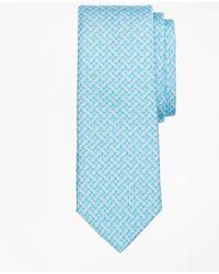 Brooks Brothers - Link Print Tie - Lyst