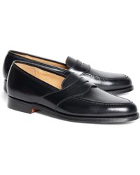 Brooks Brothers | Peal & Co.® Penny Loafers | Lyst