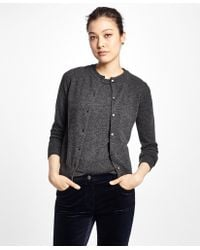 Brooks Brothers - Long-sleeve Cashmere Cardigan - Lyst