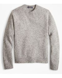 Brooks Brothers - Donegal Crewneck Sweater - Lyst