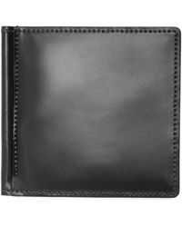 Brooks Brothers - Cordovan Wallet With Money Clip - Lyst