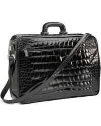 Brooks Brothers - Glazed Alligator Travel Bag - Lyst