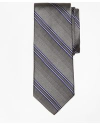 Brooks Brothers | Natte Double Stripe Tie | Lyst