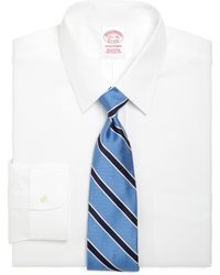 Brooks Brothers - Traditional Fit Forward Point Collar Dress Shirt - Lyst