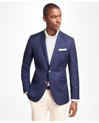 Brooks Brothers - Milano Fit Two-button Blazer - Lyst