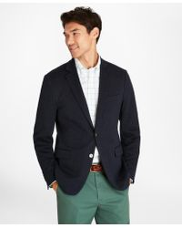 Brooks Brothers - Regent Fit Two-button Knit Blazer - Lyst