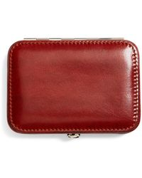 Brooks Brothers - Leather Business Card Case - Lyst