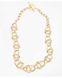 Brooks Brothers - Gold-plated Nautical Link Necklace - Lyst