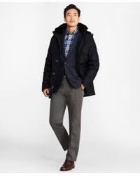 Brooks Brothers - Water-resistant Wool Down-filled Parka - Lyst
