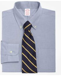 Brooks Brothers - Non-iron Traditional Fit Button-down Collar Dress Shirt - Lyst