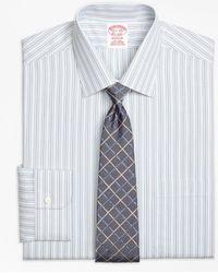 Brooks Brothers - Madison Classic-fit Dress Shirt, Non-iron Alternating Stripe - Lyst