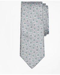 Brooks Brothers - Panama Tossed Flower Print Tie - Lyst