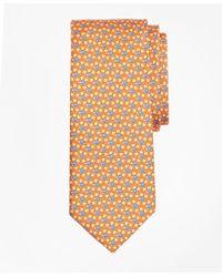 Brooks Brothers - Turtle And Leaf Print Tie - Lyst