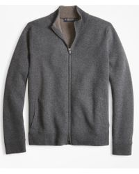 Brooks Brothers - Double-face Full-zip Jumper - Lyst