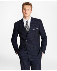 Brooks Brothers - Regent Fit Double-breasted Pinstripe 1818 Suit - Lyst