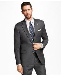 Brooks Brothers - Madison Fit Alternating Stripe 1818 Suit - Lyst