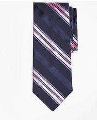 Brooks Brothers - Satin Ribbed Stripe Tie - Lyst