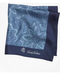 Brooks Brothers - Paisley Pocket Square - Lyst