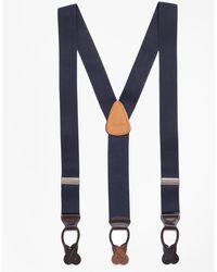 Brooks Brothers - Solid Suspenders - Lyst