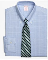 Brooks Brothers - Non-iron Brookscool® Regent Fit Glen Plaid Dress Shirt - Lyst
