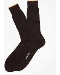 Brooks Brothers - Merino Wool Golden Fleece® Sized Crew Socks - Lyst
