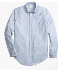 Brooks Brothers - Milano Fit Oxford Sport Shirt - Lyst