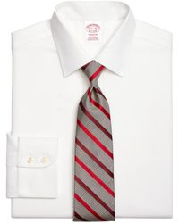 Brooks Brothers - Non-iron Milano Fit Royal Oxford Dress Shirt - Lyst