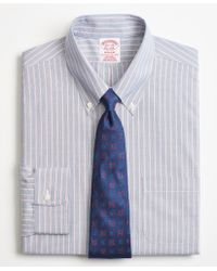 Brooks Brothers - Madison Classic-fit Dress Shirt, Non-iron Double Stripe - Lyst